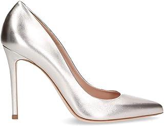 SERGIO LEVANTESI Luxury Fashion Womens MISSSILVER Silver Pumps | Spring Summer 19