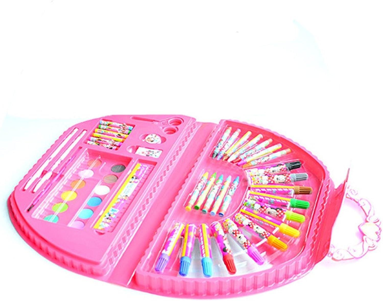 AUMING Farben Wasserfeste Stifte Stifte Stifte EIN Satz von 20 Rosa halbkreisförmigen handgemalten Gemälden nimmt nach Hause und Kinder genießen den Spaß an Kunst. B07QG7H96K       Ausgang  f962e8