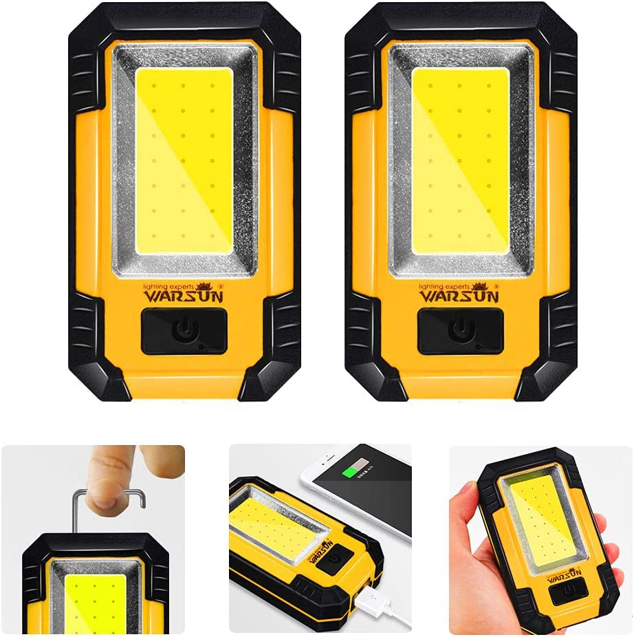 iztor Portable Max 63% OFF trend rank Magnet Adsorption Rechargeable LED Camping Lights