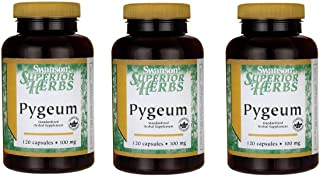 Swanson Pygeum 500 mg 120 Caps 3 Pack