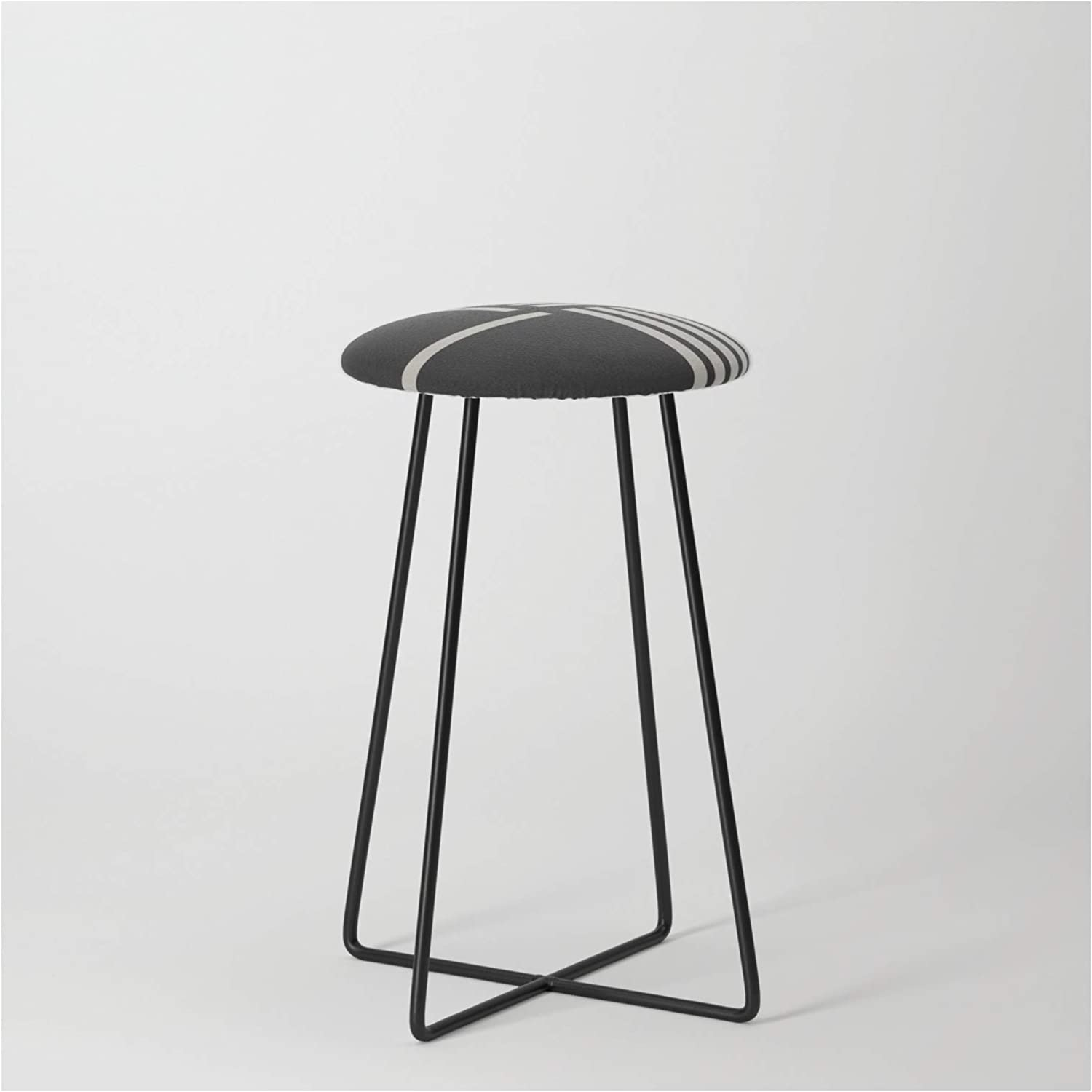 Society6 Dark Side In a Under blast sales popularity of The Moon by on Counter Stool Bl - Absentis