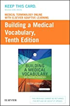 Medical Terminology Online with Elsevier Adaptive Learning for Building a Medical Vocabulary (Access Card)