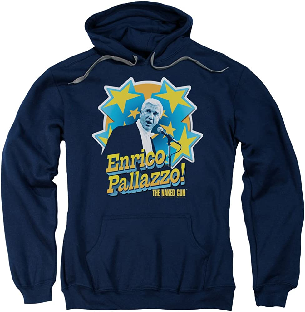 Naked Super popular specialty store Gun Its Enrico Pallazzo Adult Pull-Over Direct stock discount Unisex Hoodie for