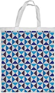 Form geometric Printed Shopping bag, Medium Size