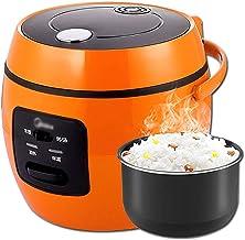 Rijstkoker (2L/350W) Huishoudelijke niet-Stick Rijstkoker, Koken met één knop en automatische warmtebehoud, voor 1-3 personen