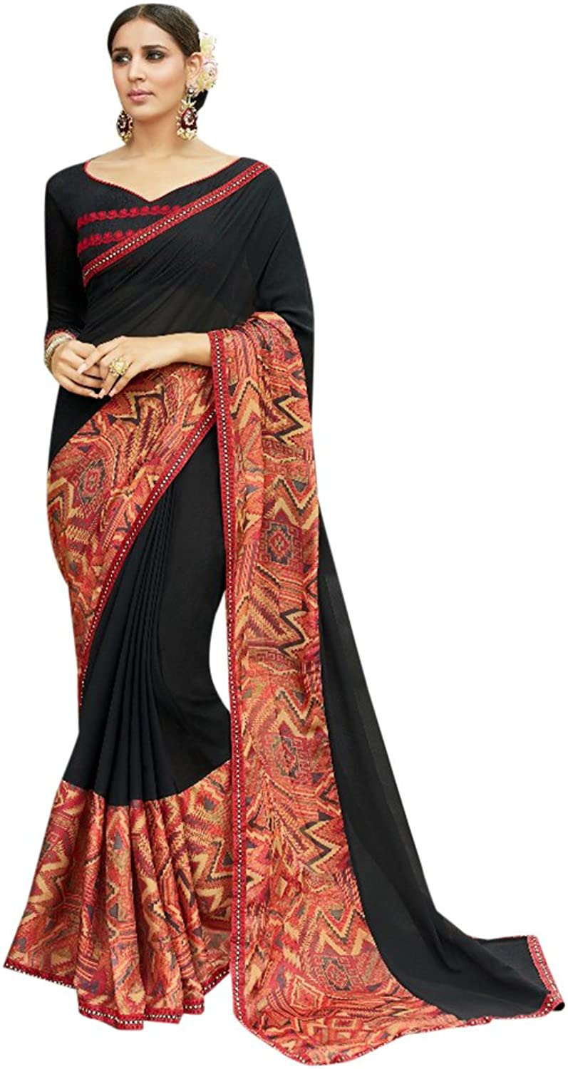 Designer Bollywood Formal Wear Saree Sari for Women Latest Indian Ethnic Wedding Collection Blouse Party Wear Festive Ceremony 2620 8