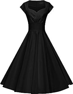 GownTown Womens Dresses Party Dresses 1950s Vintage Dresses Swing Stretchy  Dresses 345696cea