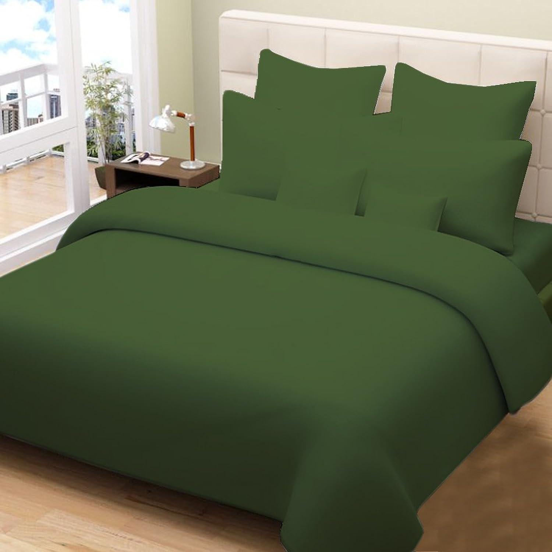 Drap -3PC 600tc Italien Finition Mousse Solide Couleur Euro Double IKEA Taille 100% Coton égypcravaten en Paradis d'outre-mer