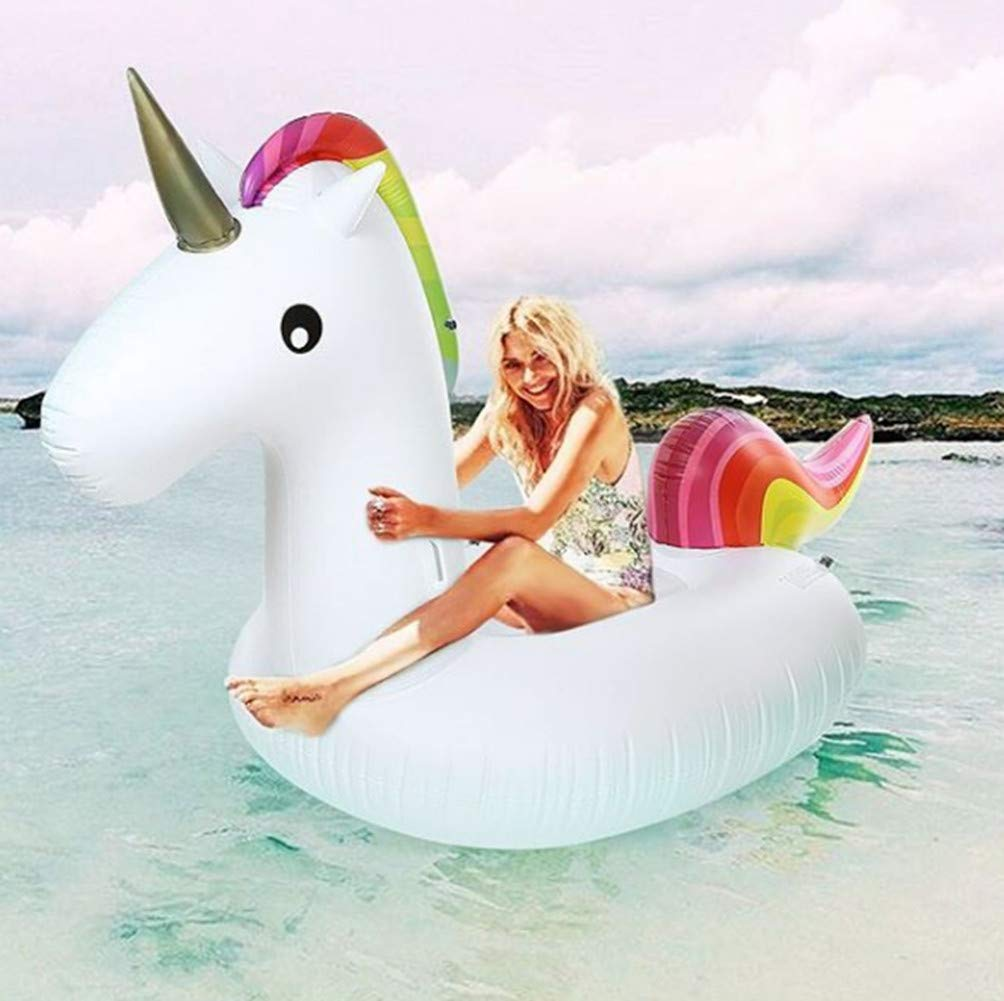 Lady of Luck Flotador Unicornio, Inflable Gigante Unicornio ...