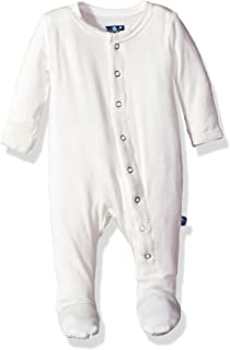 Kickee Pants Baby Boys' Infant Solid Footie