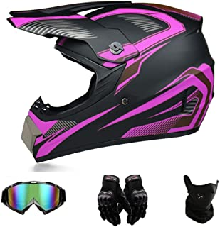 Motocross Helmets Motorcycle Cross Helmets & Enduro Helmets Double Sport Motocross Helmet Motorcycle Helmet Scooter Downhi...