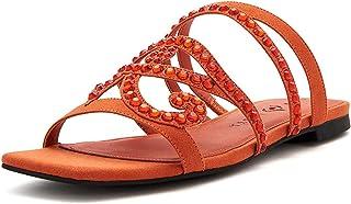 Katy Perry Women's The Anat Slide Sandal, RUSTY, 6