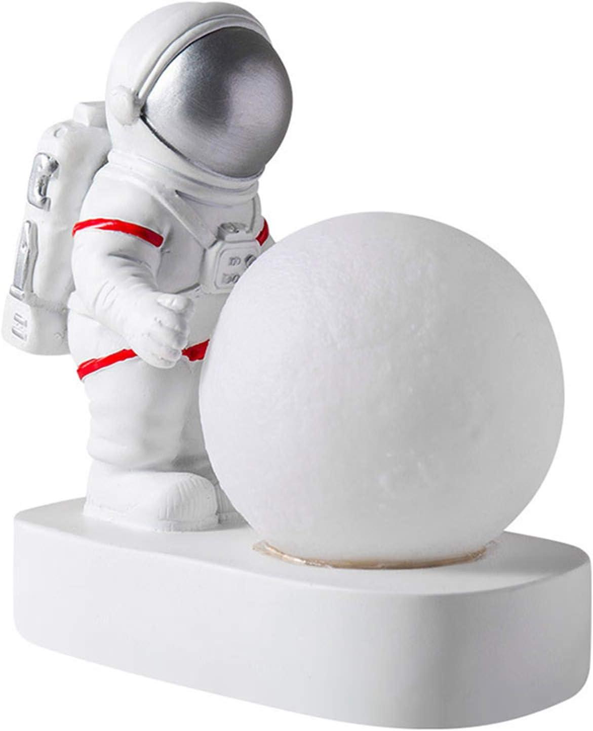 Zhangjiang Astronaut Resin Statues Free Shipping New Bombing free shipping Moon Decor Lamp De