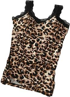 Macondoo Womens Warm Print Fleece Vest Sleeveless Winter Tank Tops