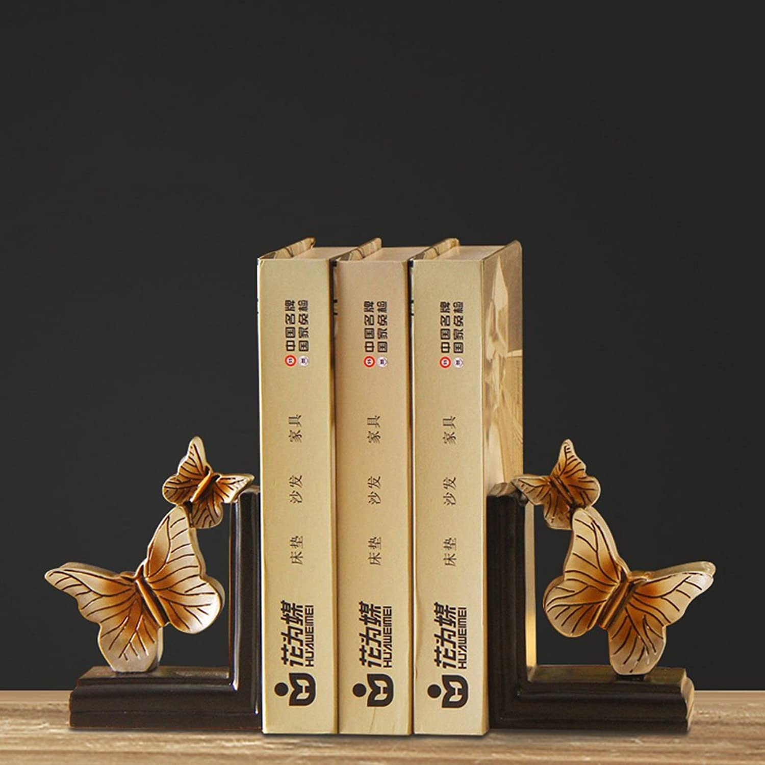 Resin butterfly bookshelf Home Decoration Wine cabinet decorations indoor living room coffee table TV cabinet office desk Wedding Gifts
