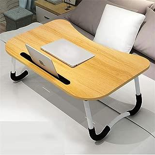 ノートパソコン用ラップデスク カードスロットベッドの机が付いている多機能のラップトップテーブルから選ぶべきさまざまな様式 ユーティリティテーブル (色 : T1, サイズ : Free)