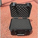 Caja protectora de la herramienta de prueba de agua caja de herramientas de alta calidad de plástico muy ligero Maletín for herramientas con pre-corte de espuma de revestimiento 233 * 181 * 155 Mm