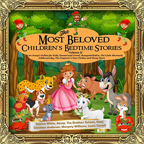 The Most Beloved Children's Bedtime Stories Volume II audiobook cover art