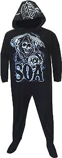 Men's Grim Reaper Onesie Hooded Footed Pajama