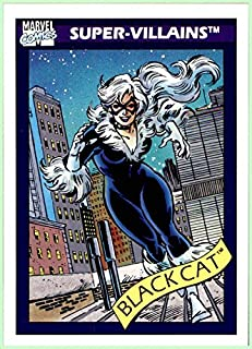 1990 Marvel Universe I #72 Black Cat Felicia Hardy Spiderman
