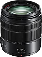 Panasonic Lumix G Vario 14-140mm Telephoto Zoom Lens with F3.5-5.6 II ASPH, Mirrorless Micro Four Thirds Mount and Power ...