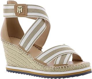 5f7318672211 Amazon.com  Tommy Hilfiger - Platforms   Wedges   Sandals  Clothing ...