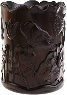 SunniMix Handgeschnitzte Lotus Muster Stift Vase Halter Kalligraphie Schreiben Pinsel Topf -  1 B07MXFVK8F  Wirtschaftlich und praktisch