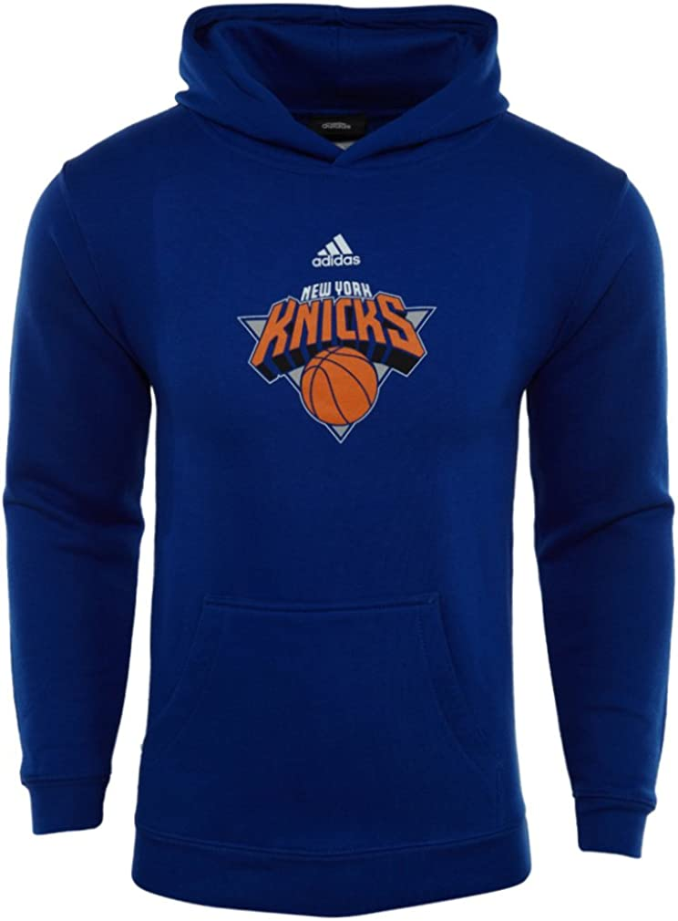 adidas NBA York Knicks Youth Hooded Fleece