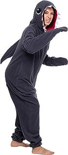 Silver Lilly Slim Shark Costume - Adult One Piece Cosplay Animal Pajamas