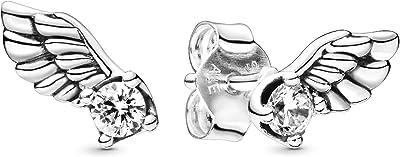 Pandora Mujer plata Pendientes de botón 298501C01