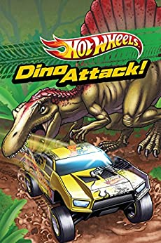 Dino Attack (Hot Wheels) (Scholastic Reader Level 1) by [Ace Landers, Dave White]