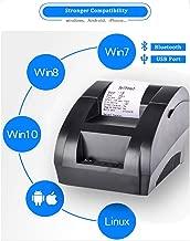 ZYJ 58Mm Impresora De Recibos Bluetooth, USB Recibos Térmicos Printe Inalámbrico Pos Impresora Térmica para Android iOS Windows Phone Soporte De Caja Registradora