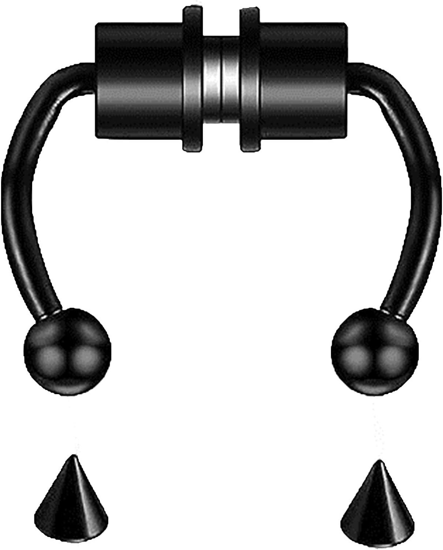 HAVAJ Magnetic Limited price Septum Nose Branded goods Ring Reusable Alloy Fashion