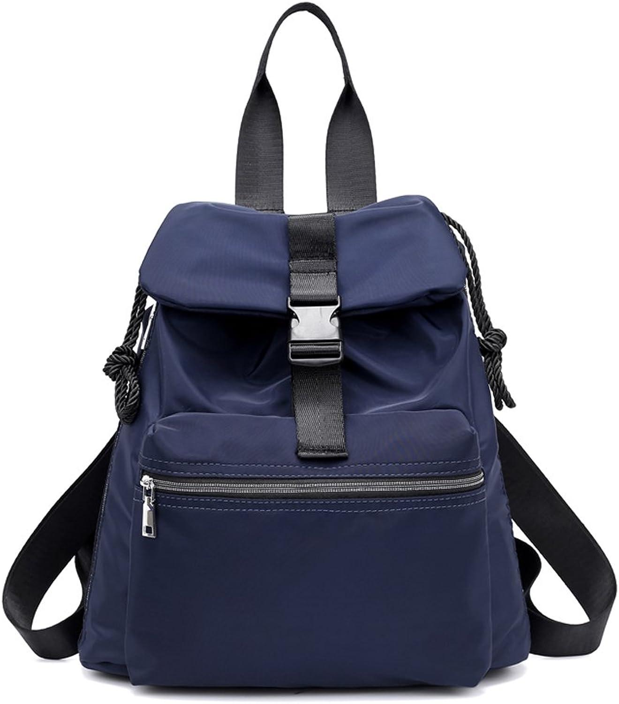 Mynos Backpack Women Multifunction Waterproof Travel Rucksack Purse and Handbag (Style1bluee)