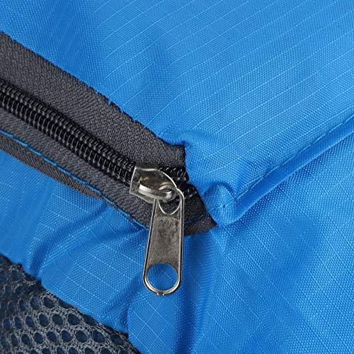 Astibym Mochila de Nailon Ligero Resistente al Desgaste para Mujer(Blue)
