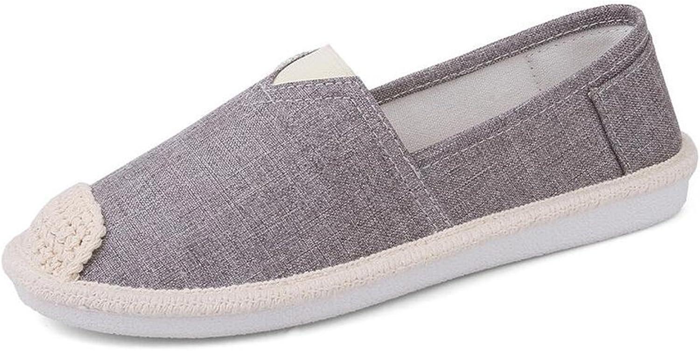 Super frist Women's Canvas Slip On Fashion shoes Flats Espadrilles