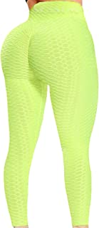 SEASUM Women's High Waist Yoga Pants Tummy Control...