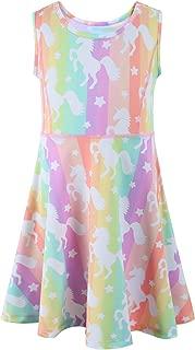 Liliane Girls Unicorn Dresses Summer