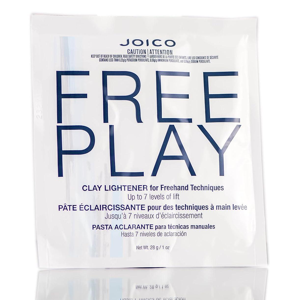 テクスチャー瞑想する優雅Freeplay by Joico ジョイコ無料リフトの7つのレベルまで、フリーハンドテクニックのためのクレイライトナーを再生)((なめらかな色合いブラシを含んでいます) 1オンス/ 28グラム