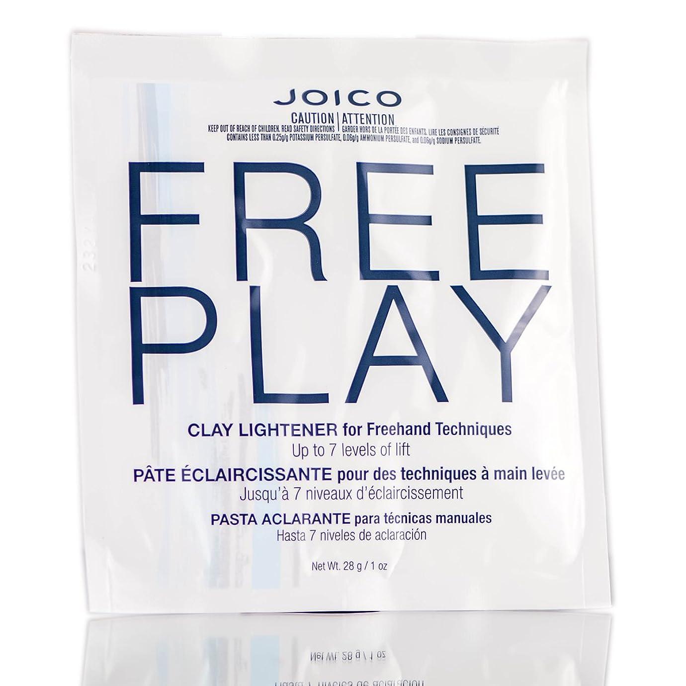 トランスペアレント石の第五Freeplay by Joico ジョイコ無料リフトの7つのレベルまで、フリーハンドテクニックのためのクレイライトナーを再生)((なめらかな色合いブラシを含んでいます) 1オンス/ 28グラム