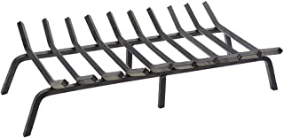 Minuteman International Non-Tapered Iron Fireplace Grate, 36-in x 17-in