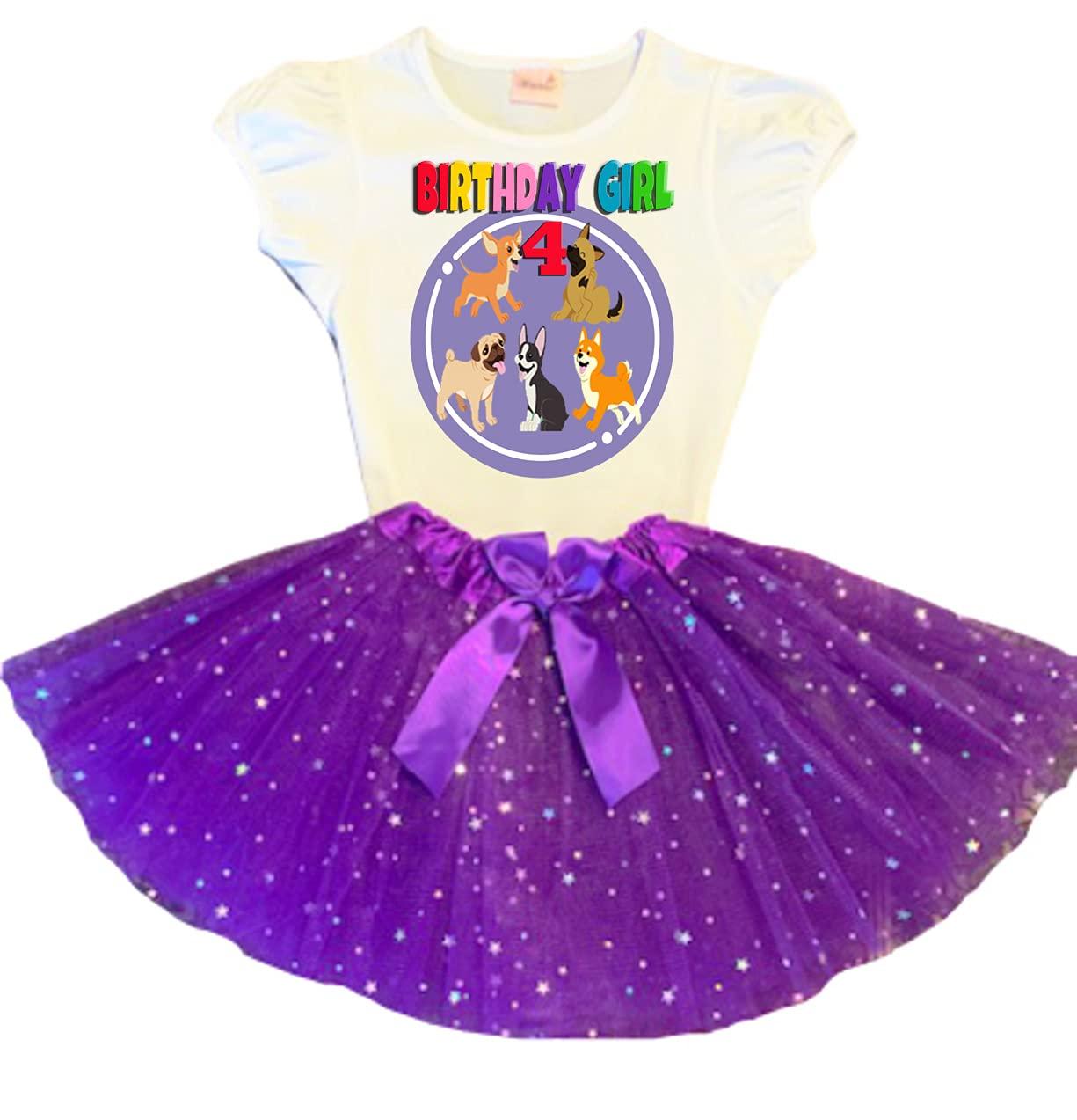 Dog Import Patrol Birthday Tutu 4th Dress Ou Tulsa Mall Party Purple