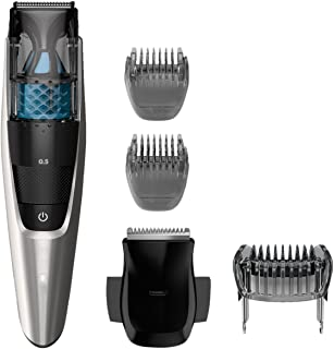 Philips Norelco Vacuum Beard Trimmer Series 7200,...