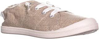 Material Girl MG35 Brooke Slip on Low Top Sneakers, Sand Canvas US