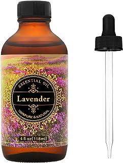 MASEN Aromatherapy Lavender Essential Oil-100% Pure.herapeutic Grade Oils For Difusser With Premium Glass Dropper- 4 fl oz/118ml