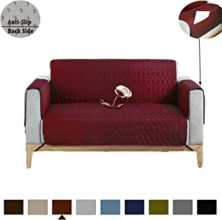 RBSC Home Sofa Cover 100% Waterproof Anti-Slip Couch Covers for Leather Oversized Loveseat Slipcovers for Pets,Baby, Dogs,Cats and Kids,Washable Protector