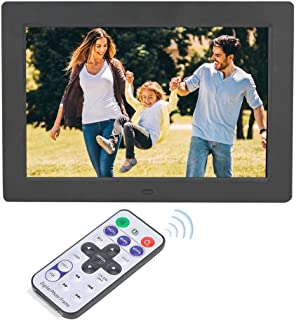 FEE-ZC Digital Picture Frames, 10inch 16:9 Electronic Album 1280 * 800 Resolution Wide Screen Digital Photo Frame Support ...