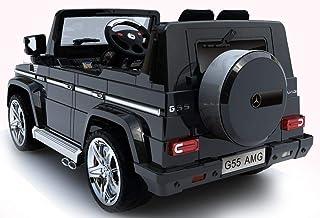 Mercedes G55 Licensed Remote Control Ride-on Car -black