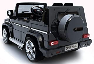 Dorsa Mercedes G55 Remote Control Ride-on Car, Black, G55-BLACK