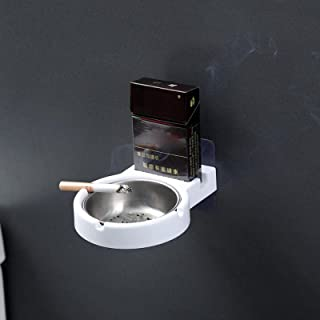 Przenośna popielniczka ścienna ze stali nierdzewnej kieszonkowe uchwyty do wędzenia kubek do przechowywania toalety domu b...